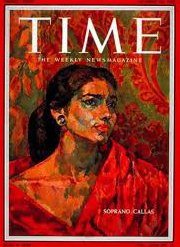 Maria Callas on Time Magazine