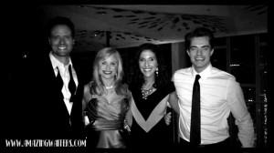 The Amazing Waiters quartet