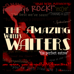 Singing Waiter Entertainment and more...