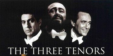 First Three Tenor Concert was in Los Angeles, CA