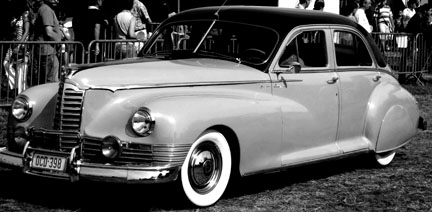 1940s Packard - Old Hollywood Style