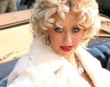 aguilera wanting to be marilyn monroe