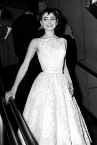audrey hepburn old hollywood glam