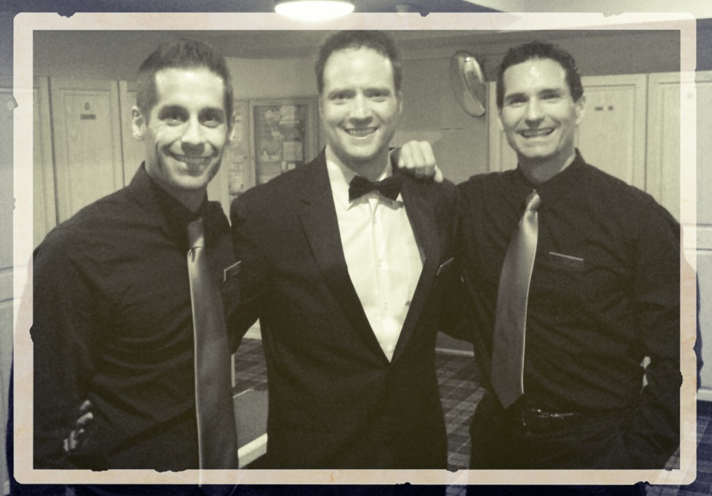 3 Amazing Waiters surprie guests in los angeles