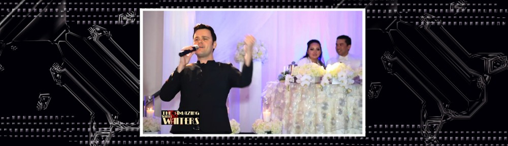 the amazing waiters surprise wedding reception show